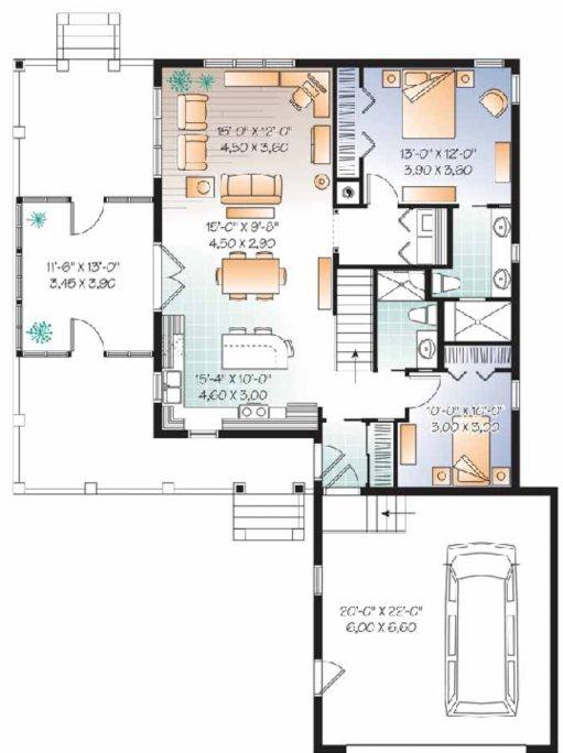 Planos de chalets ideas de disenos for Planos de casas gratis