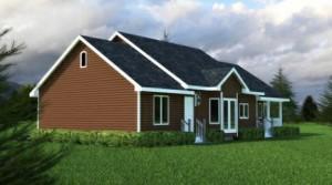 Planos de casa de tres dormitorios-1