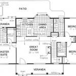 Planos de casa de tres dormitorios-2