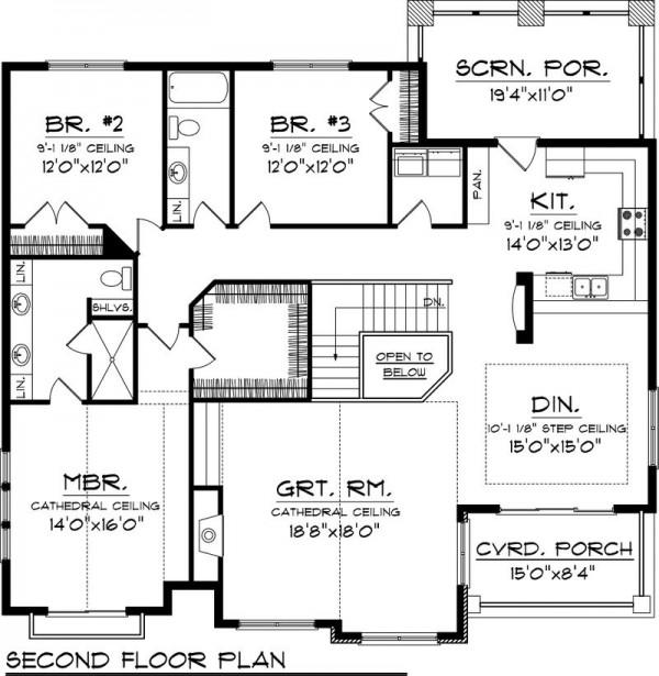 Tres pisos mansiones planos imagui - Planos casas de lujo ...