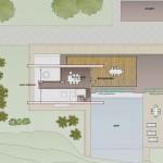 Planos de casa costera de dos niveles, tres dormitorios2