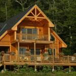 Planos de casa de campo de 2 niveles de tres dormitorios, sin garaje