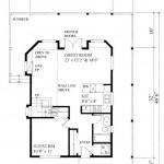 Planos de casa de campo de 2 niveles de tres dormitorios, sin garaje1