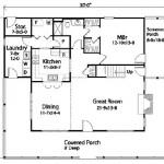 Planos de casa de campo de dos niveles y tres dormitorios1