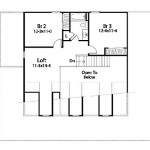Planos de casa de campo de dos niveles y tres dormitorios2
