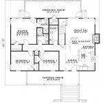 Planos de casa cottage de dos niveles1