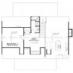 Planos de casa cottage de dos niveles2