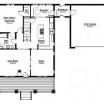 Planos de casa cottage de tres baños1