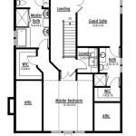 Planos de casa cottage de tres baños2