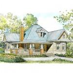 Planos de casa de campo de un nivel
