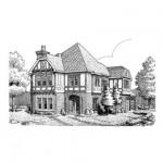 Planos de casa de estilo tudor
