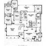 Planos de casa española de dos niveles, cuatro dormitorios, tres baños y un garaje1