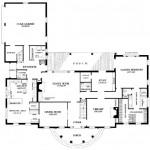 Planos de casa sureña de dos niveles1