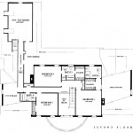 Planos de casa sureña de dos niveles2