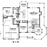 Planos de casa victoriana de dos niveles, tres baños1