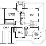 Planos de casa victoriana de dos niveles, tres baños2