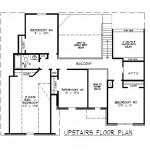 Planos de duplex casa de estilo francés2