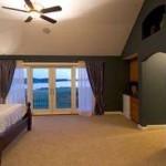 Planos de casa de lujo de dos niveles, tres dormitorios, dos baños, un garaje2