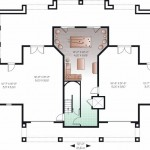 Planos de casa de playa de tres niveles, cuatro dormitorios, tres baños, un garaje1