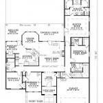 Planos de casa europea de cuatro dormitorios1