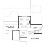 Planos de casa europea de cuatro dormitorios2