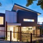 Planos de casa moderna de tres dormitorios