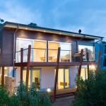 Planos de casa moderna de tres dormitorios1