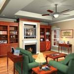 Planos de casa tradicional de un nivel, tres dormitorios, dos baños, un garaje1