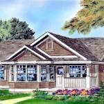 Planos de casa tradicional de un solo nivel
