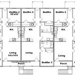Planos de departamento de dos niveles1