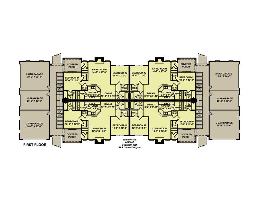 Planos de edificio de dos niveles 8 departamentos1 for Edificio de departamentos planos