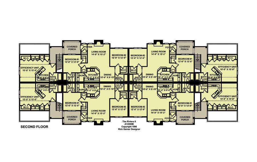 Planos de edificio de dos niveles 8 departamentos2 for Edificio de departamentos planos