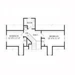 Planos de casa ecológica de dos niveles2