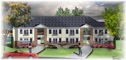 Planos de departamentos de dos niveles, 12 dormitorios, 12 baños, sin garaje