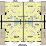 Planos de departamentos de dos niveles, 12 dormitorios, 12 baños, sin garaje1