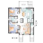 Planos de edificio de tres niveles, seis dormitorios1