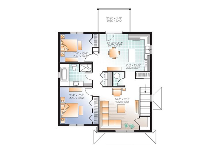 Planos de edificio de tres niveles seis dormitorios2 for Edificio de departamentos planos