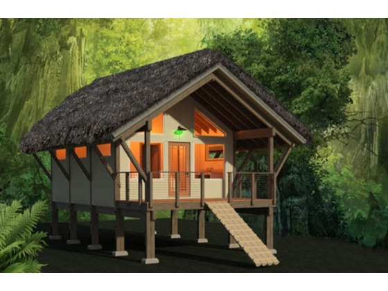 Planos de casa rural