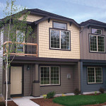 Planos de casa dúplex de dos niveles