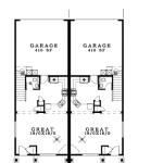 Planos de casa dúplex de dos niveles1