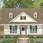 Planos de casa de campo de un solo nivel