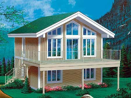 Planos De Casa Moderna De Dos Niveles Tres Dormitorios Con