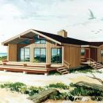 Planos de casa moderna de un solo nivel