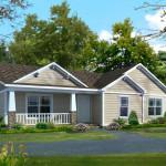 Planos de casa prefabricada de un nivel