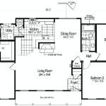 Planos de casa prefabricada de un solo nivel1