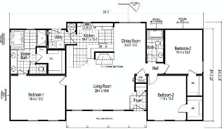 Planos de casa prefabricada de un solo nivel1 for Planos de casas prefabricadas