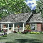 Planos de casa rural de un solo nivel