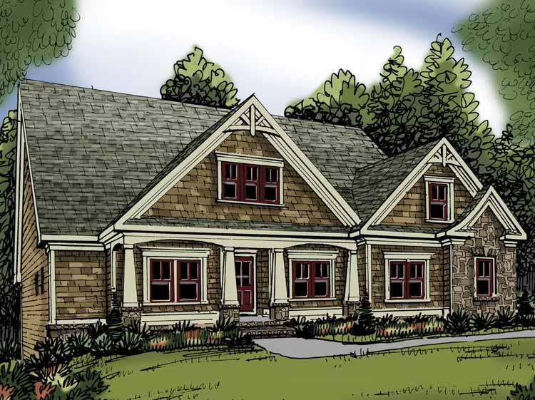 Planos de casa rural de un solo nivel dos ba os tres - Casas rurales ecologicas ...