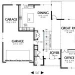 Planos de casa moderna de tres niveles1