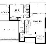 Planos de casa moderna de tres niveles3